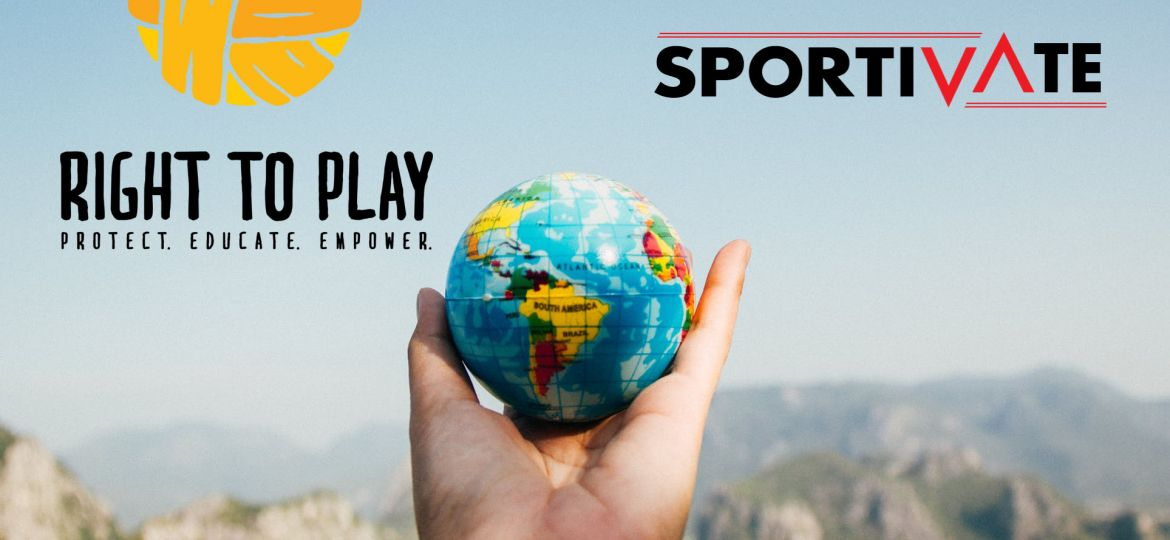 Right to Play en Sportivate