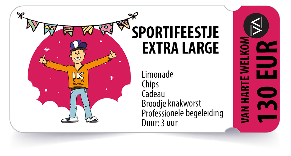Sportivate-Sportifeestje-ticket-Extra-Large