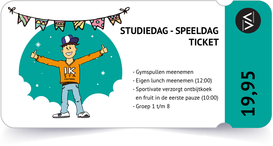 Sportivate-ticket-studiedag